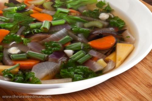 Dashi Veggie Soup